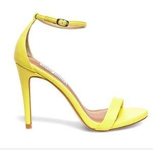 Steve madden stecy yellow heel